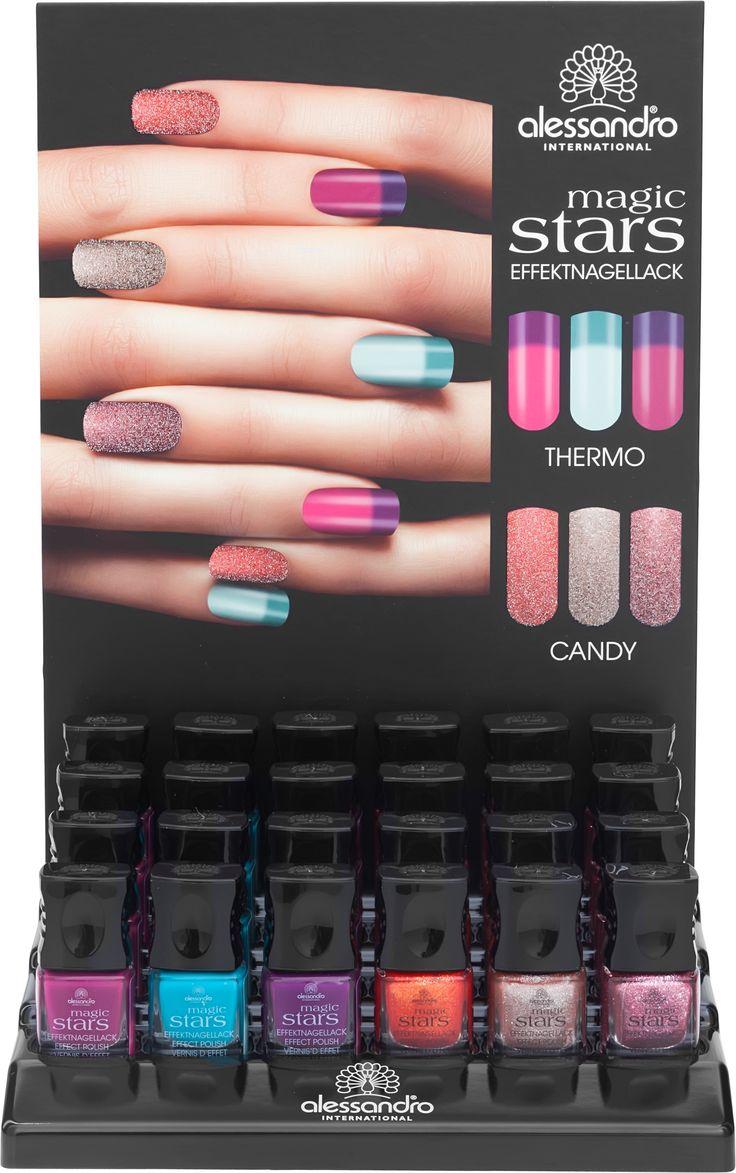 Magic Stars! #alessandro #alessandrointernational #nail #magic #stars