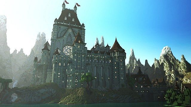 LEM Castle - Cinematic - Minecraft Project