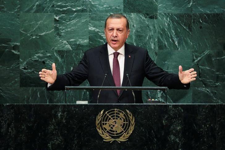 Turkey's Erdogan says U.S. sent weapons to Kurdish fighters in Syria - Business Insider