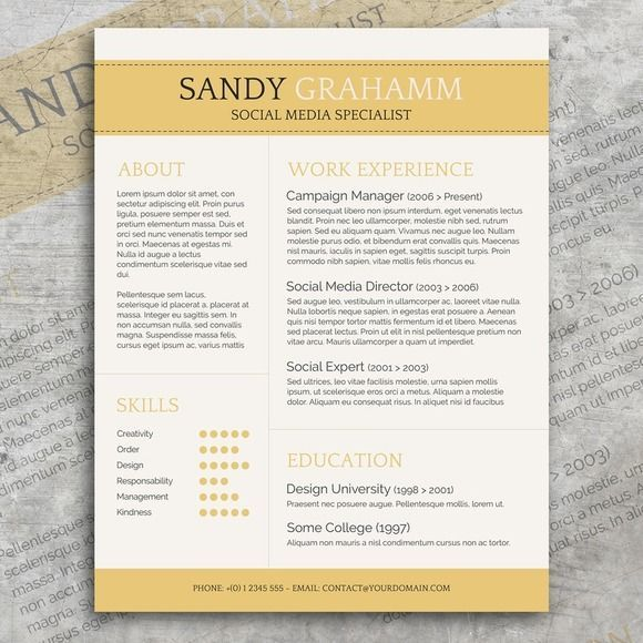 Modern Resume With Cover Letter by Visual Impact on - campaign manager resume