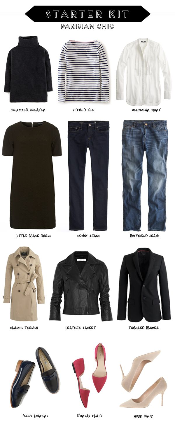 The essential French wardrobe