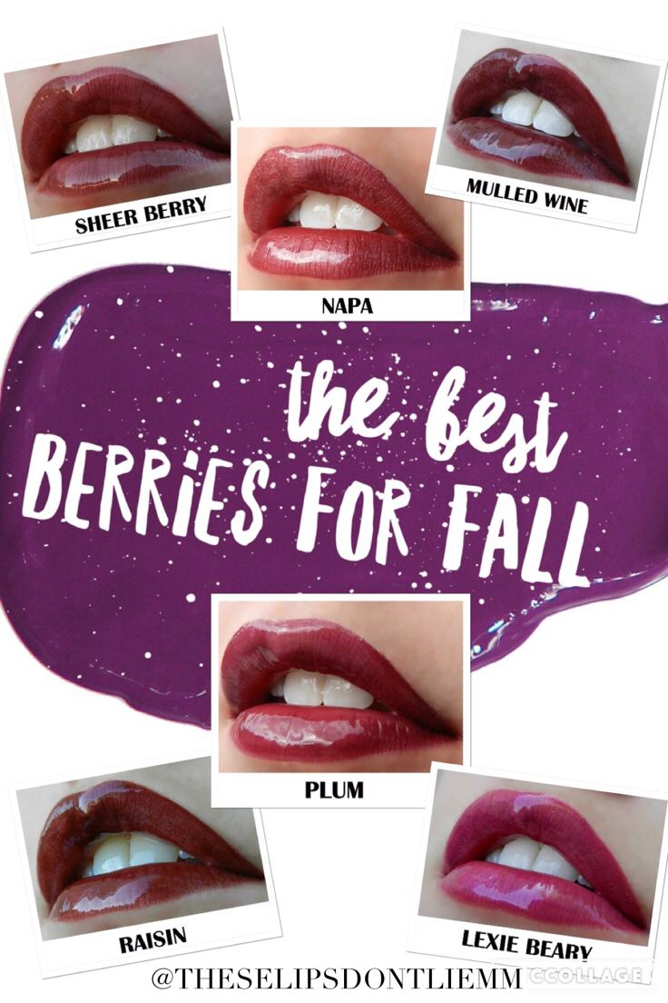 The best lips for fall  LipSense. Berry, Napa, Mulled Wine, Raisin, plum, LexieBerry #WordSwagApp
