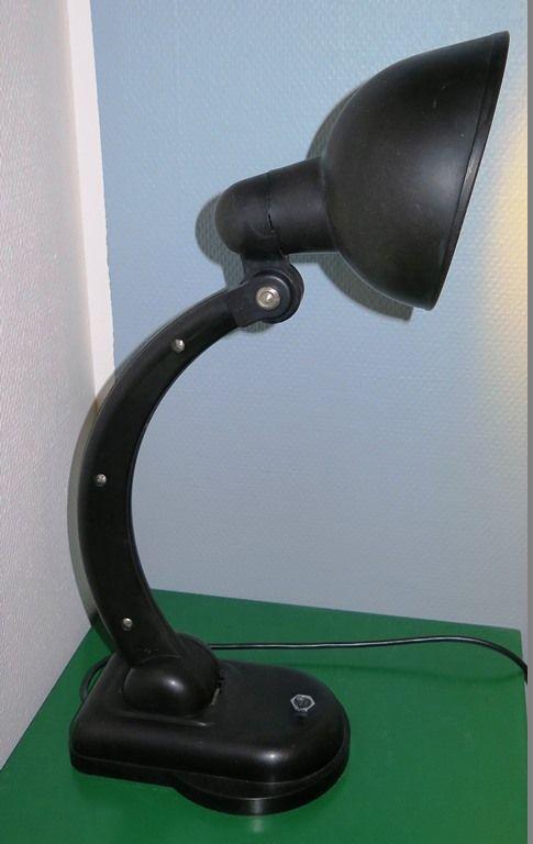 Christian Dell Bakelite lamp