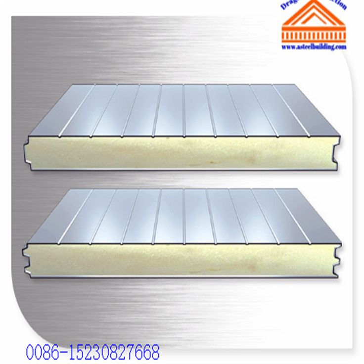 Polyurethane (PUR) Sandwich Panel – Dragon Steel structure,cold room,container house,steel&metal machines.