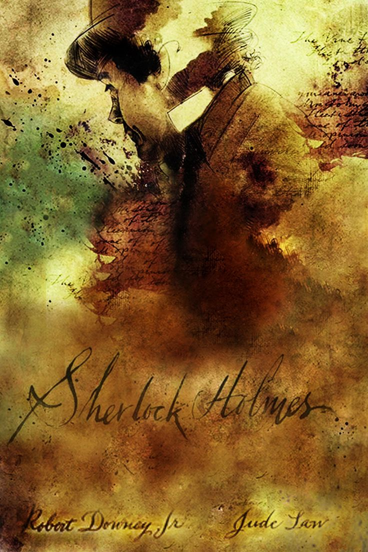 Sherlock Holmes 2009 Movie Poster Remake by ~T-Squared12 on deviantART