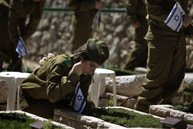 Israel presta homenagem a soldados mortos