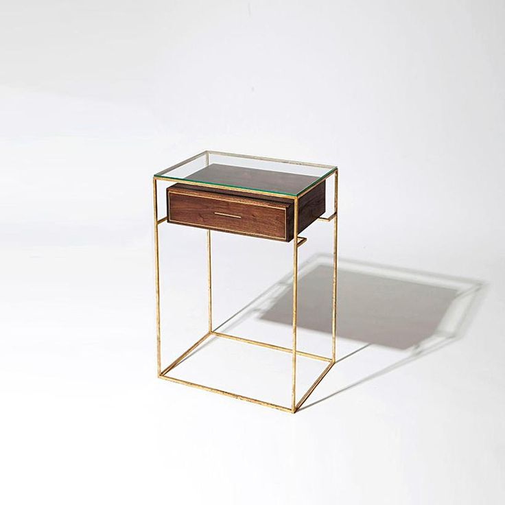 Floating Drawer Side Table