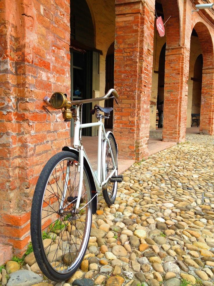 Ancient italian bike tovring bianchi '30