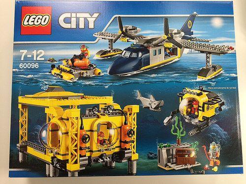 LEGO City Deep Sea Operations Base 60096  LEGO  Lego Lego city Lego city sets
