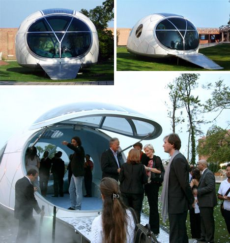 Solar Pod: The Off-Grid, Eco-Energy, Portable Power House