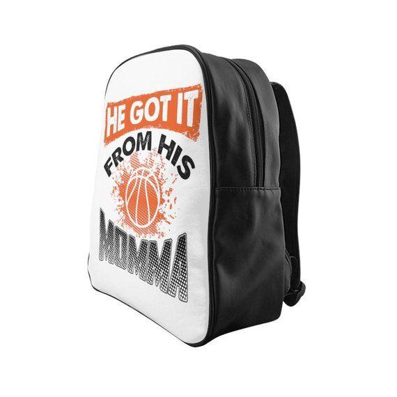 Basketball lustiger Rucksack Bookbag Back to School Geschenk Rucksack für Jungen Kinder Lea …   – Products