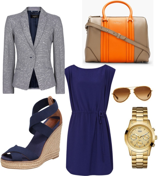 """""""Corporate casual Friday (summer)"""" by angelaptaylor ❤ liked on Polyvore"""