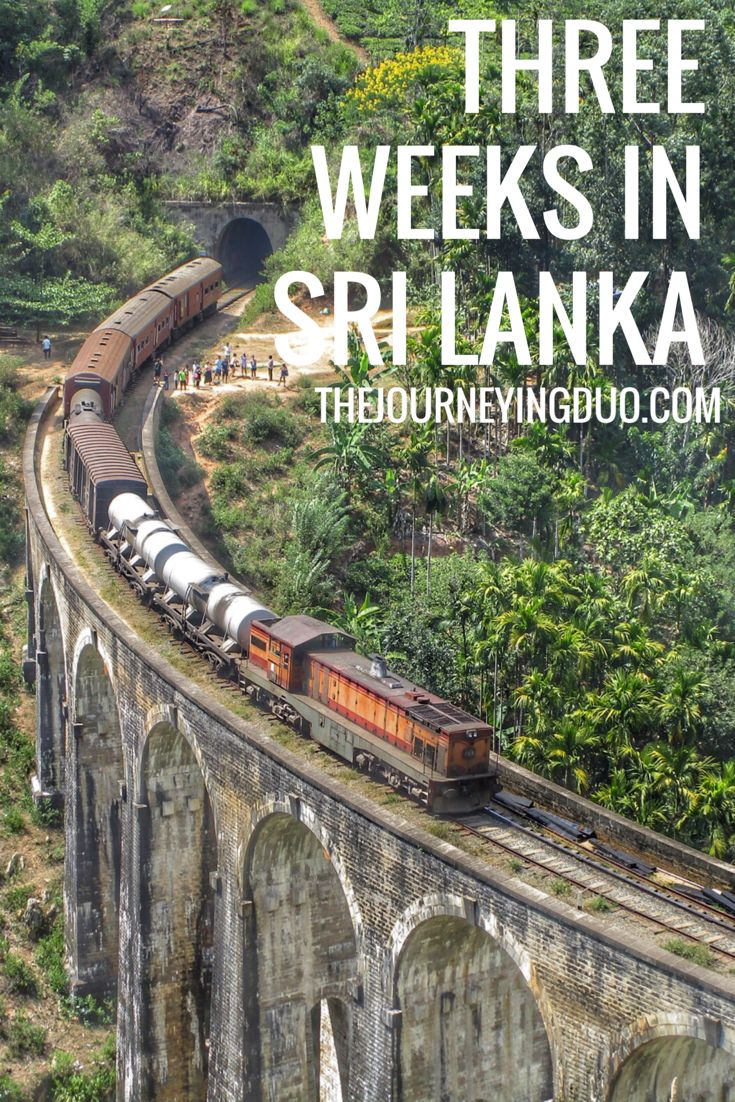 The perfect way to spend three weeks in Sri Lanka. Culture, city, beaches and hiking, this itinerary has it all.