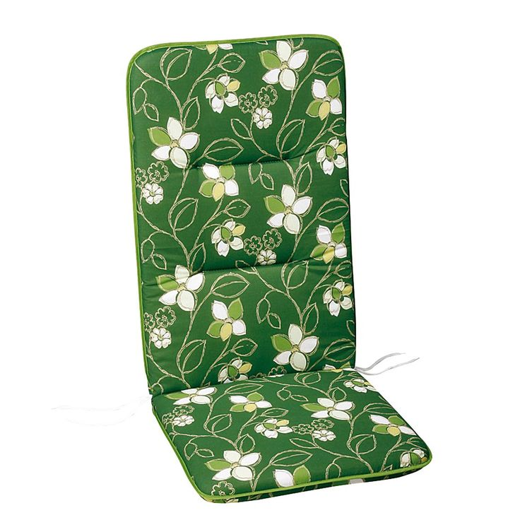 Polsterauflage Akelai - Floral gemustert - Grün - Hochlehner - 120 x 50 cm, Best Freizeitmöbel Jetzt bestellen unter: https://moebel.ladendirekt.de/garten/gartenmoebel/sitzauflagen/?uid=466c9b26-2317-57f6-9b27-38652db1bef6&utm_source=pinterest&utm_medium=pin&utm_campaign=boards #auflagenboxen #auflagen #sitzauflagen #freizeitmöbel #garten #best #gartenmoebel #gartenmöbel