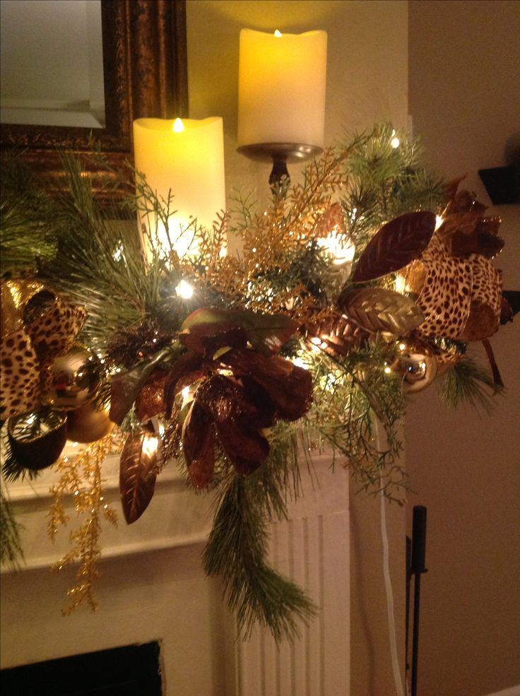 Best 25 christmas mantle decorations ideas on pinterest for Christmas decoration 94