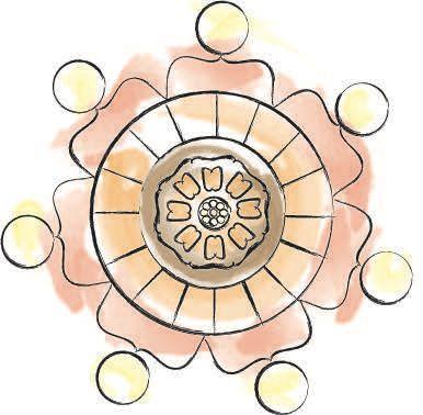 Pi Sho White Lotus: Avatar the last Airbender inspired tattoo design by Ella Watkins