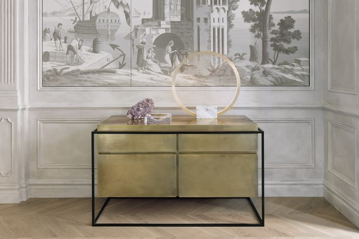 The Hyperion sideboard by Hava Studio