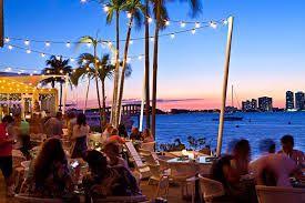 Image result for miami beach restaurant terrace