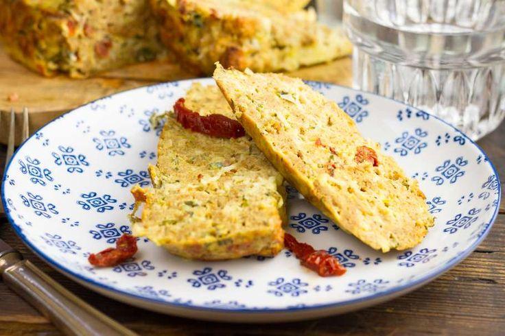 Hartige prei & kaas-broodtaart