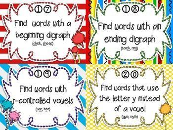 READING TASK CARDS FOR ANY BOOK {PRIMARY GRADES} - TeachersPayTeachers.com