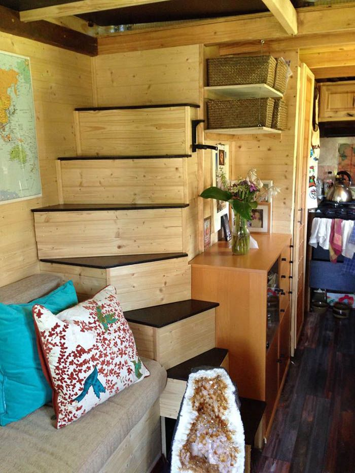 Margaret Designed An Built Her Own Beautiful Tiny Home - Tiny House for UsTiny House for Us
