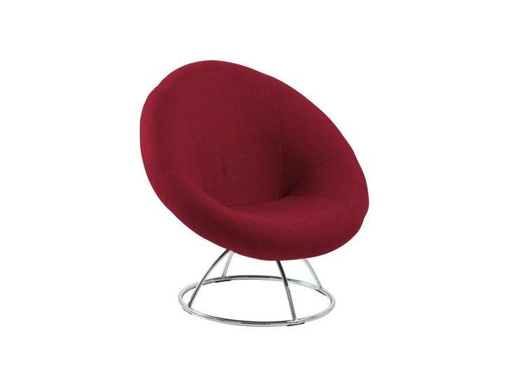 Krzesło Garcia czerwone — Krzesła Actona — sfmeble.pl