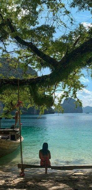 Paradise Beach in Krabi, Thailand