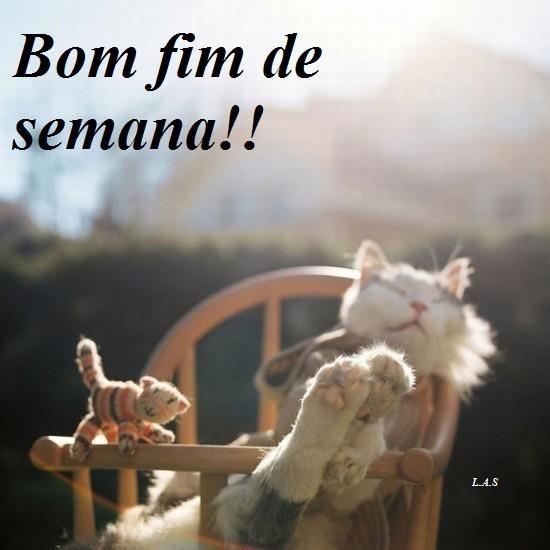 Bom fim de semana!!