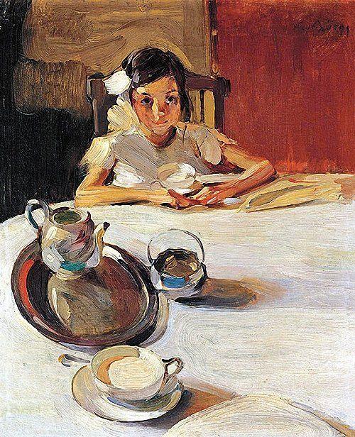 The Milk, 1917  Nikolaos Lytras