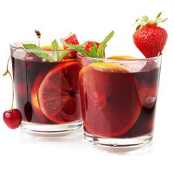 Sangria, a summer party drink