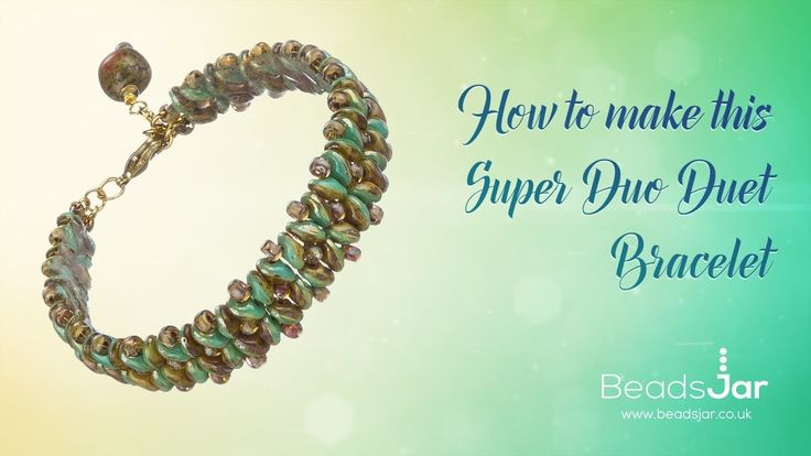 How to make this Super Duo Duet Bracelet | Seed Beads