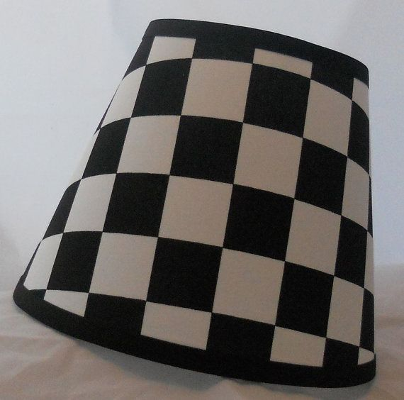 Racing Checkered Flag Lamp Shade 10 Sizes To Choose From