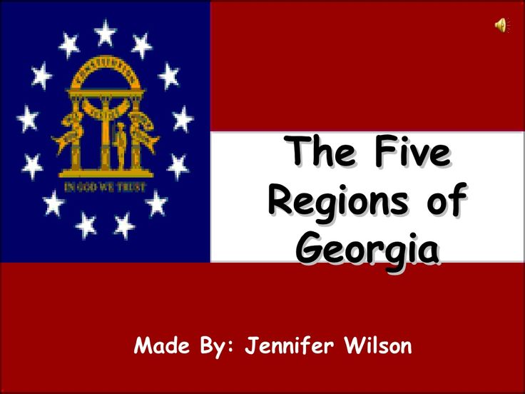 georgia-regions-video-podcast by Jennifer Wilson via Slideshare