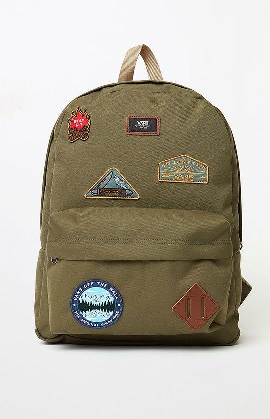 Vans Old Skool II Olive Backpack