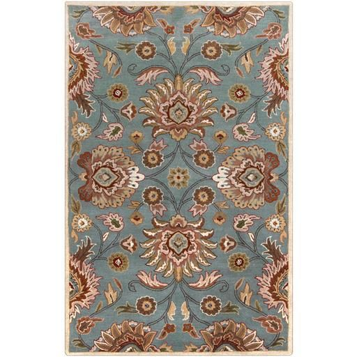 Caesar CAE-1012 Blue Damask Rug  #decor #rugs #carpet #interiorstyling #homeideas #classy #dreamhome #floorcoverings #arearugs #myhome