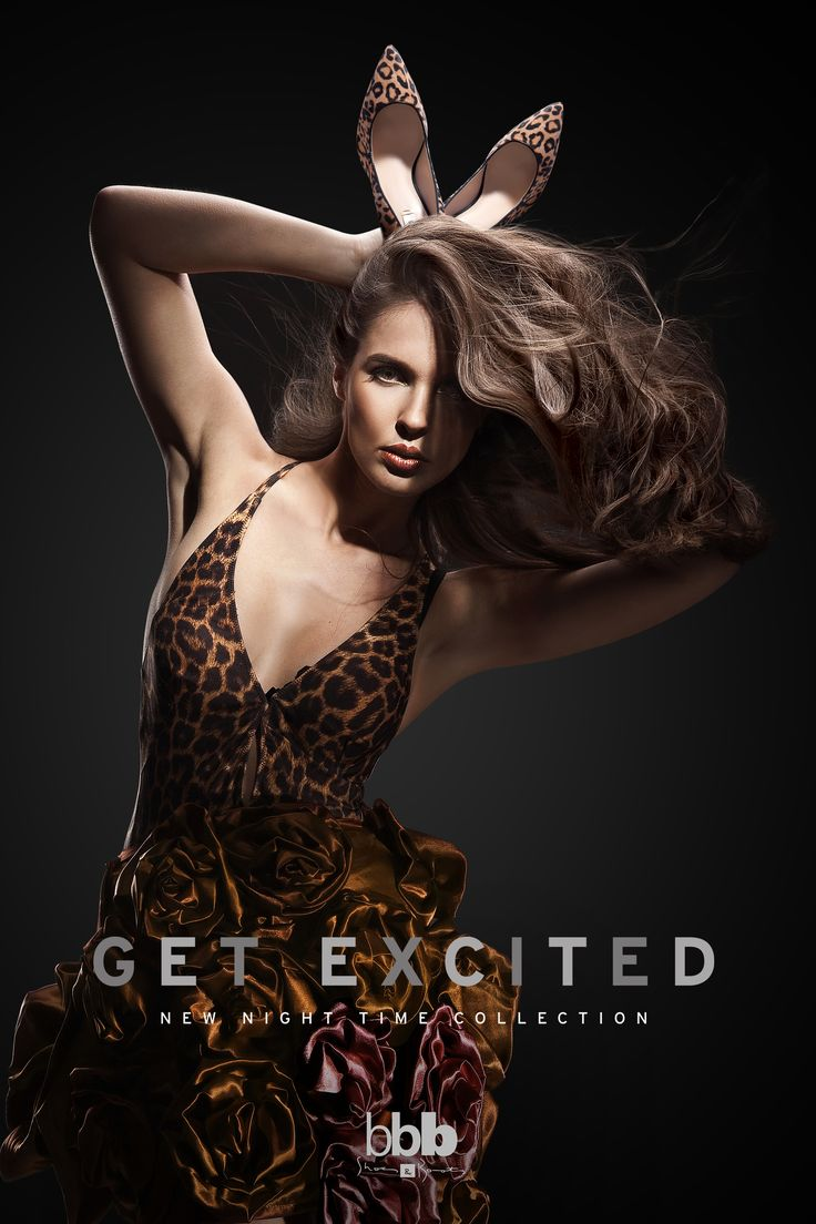 Get Excited | Night Time Shoe Collection Ad.