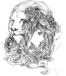 leo difficult coloring pages of zodiac signs if youre in