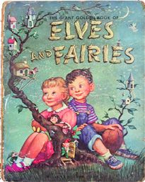 The Giant Golden Book of Elves and Fairies, illustrated by Garth Williams