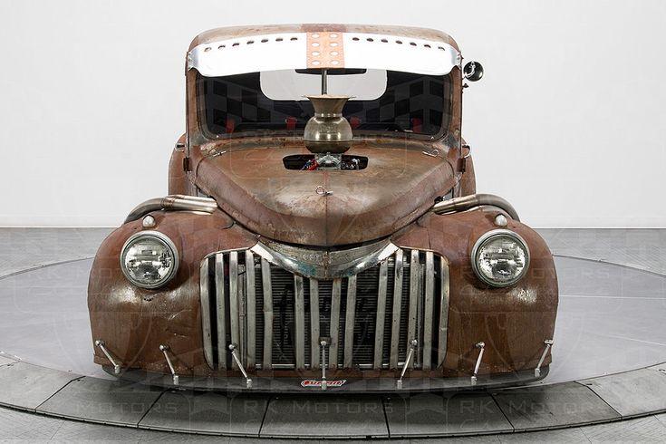 Chevrolet 3100 Pick-up Truck 1947 Nascar Engine 820 PS