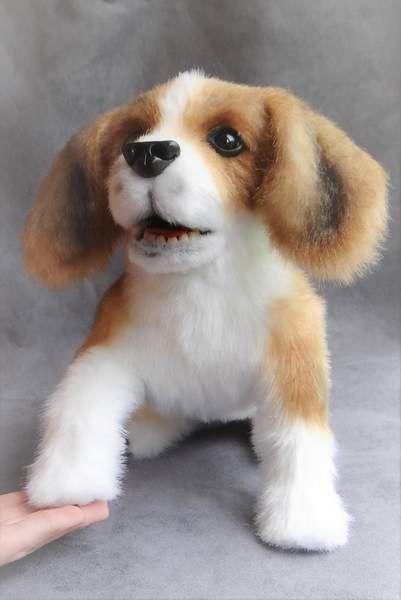 Нежный щенок гончей «зубастый» По Ermoha - Bear Pile