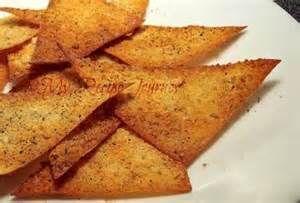 My Recipe Journey: Garlic Parmesan Wonton Crackers