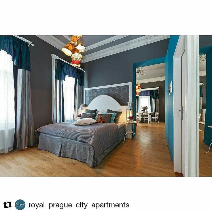 #Repost @royal_prague_city_apartments  Big apartment with balcony for 4 persons  #apartment #bed #bedroom #royalpraguecityapartments #kingsize #interiordesign #interior #style #uniquestyle #vacation #vacationtime #holiday #hotelprague #hotel