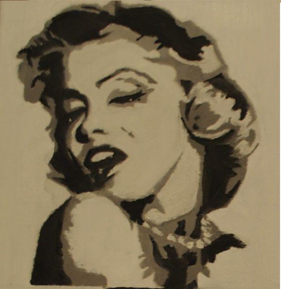 Marilyn Monroe  Oil on canvas 2012