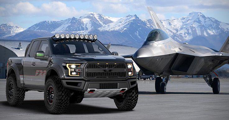 One of a Kind Ford F-22 Raptor F-150 - Supercharged 3.5L EcoBoost V6 Engine -  545 Horsepower.