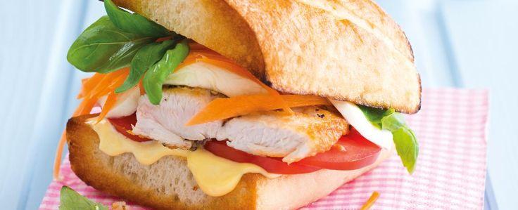 Krůtí sendviče