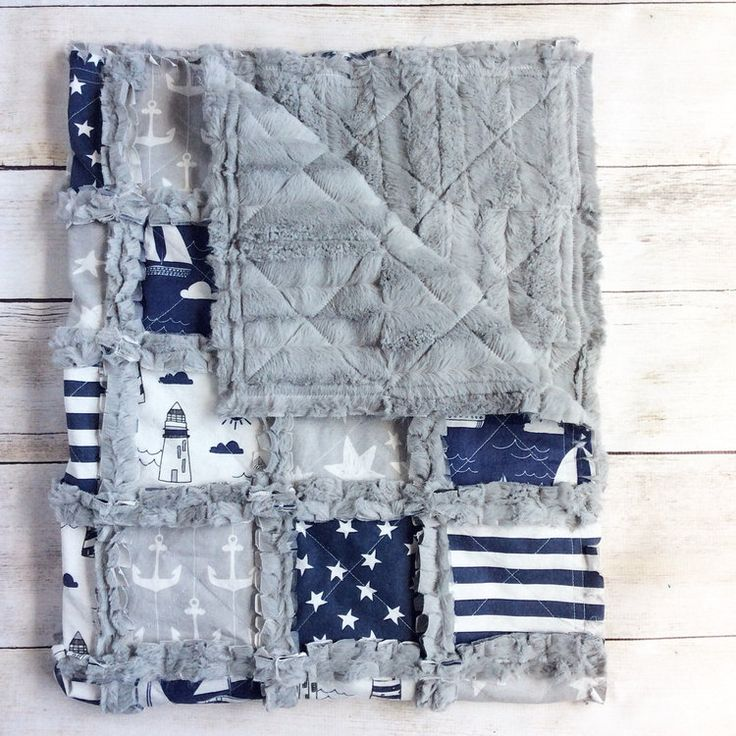 Nautical Crib Quilt Nautical Nursery Bedding Nautical Blanket - http://babyfur.net/nautical-crib-quilt-nautical-nursery-bedding-nautical-blanket/
