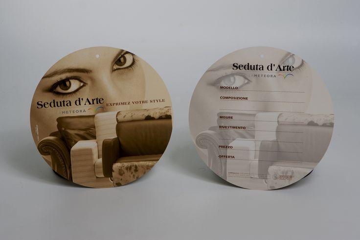 Ribbon, which is part the corporate image designed for the brand of sofa Seduta d'Arte. Art director: Mauro Giammarini Graphic design: Mauro Giammarini Photo: D. Barile Agenzia: MGAlterego