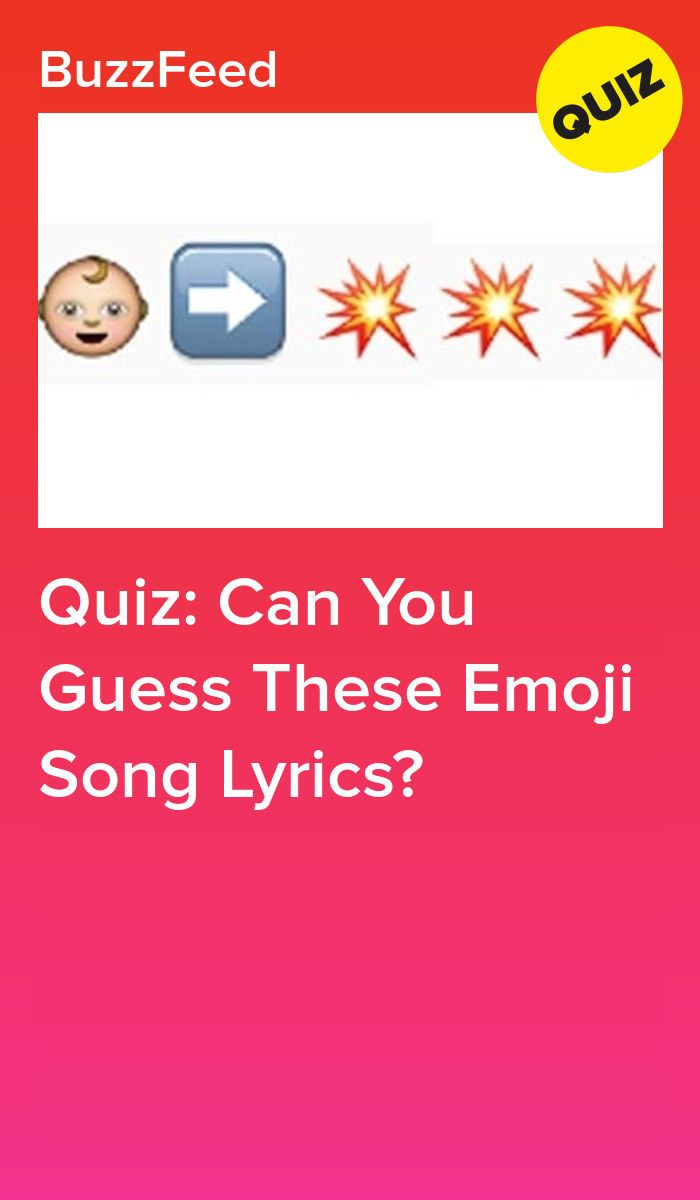 Quiz Can You Guess These Emoji Song Lyrics In 2020 Songs Song Lyrics Guess The Lyrics