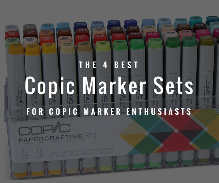 best copic marker sets