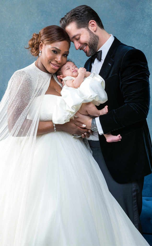 "On November 16th, 2017 Tennis superstar Serena Williams married Reddit co-founder Alexis Ohaninan. During ""Belle/Beauty& The Beast"" inspired ceremony which took place at the Contemporary Arts Center in New Orleans, Louisiana Serena wore a custom Sarah Burton for Alexander McQueen princess style strapless ballgown. The couple's 2 month old daughter was a part of the ceremony."